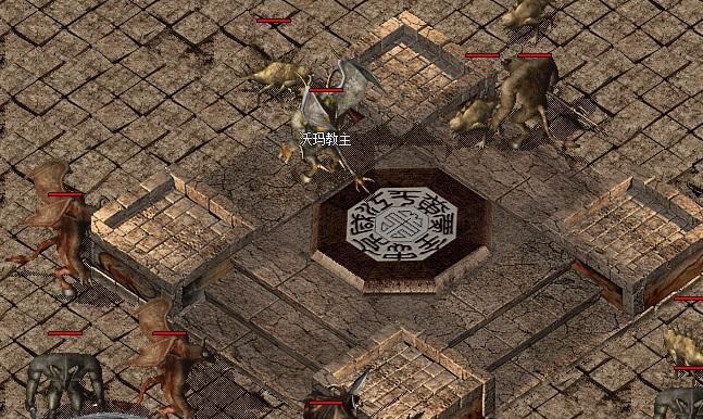 沃玛寺庙中能不能爆出龙纹剑呢?